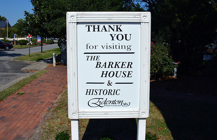 Thanks for visiting the Barker House in Edenton, NC