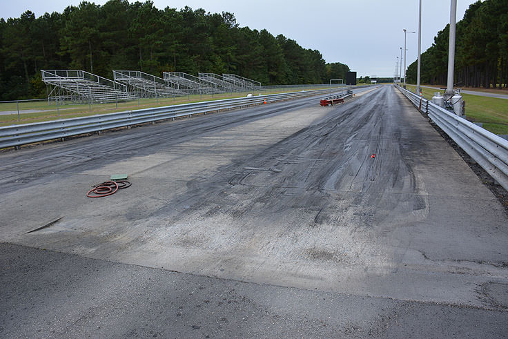 Northeast Dragway outside Hertford, NC